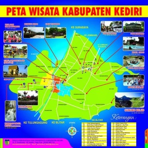 Peta Wisata kediri