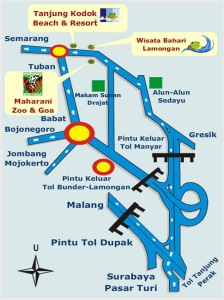 Peta Wisata Lamongan