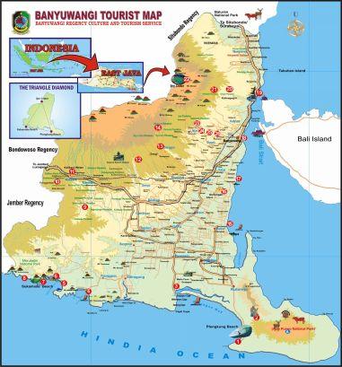 Peta Banyuwangi